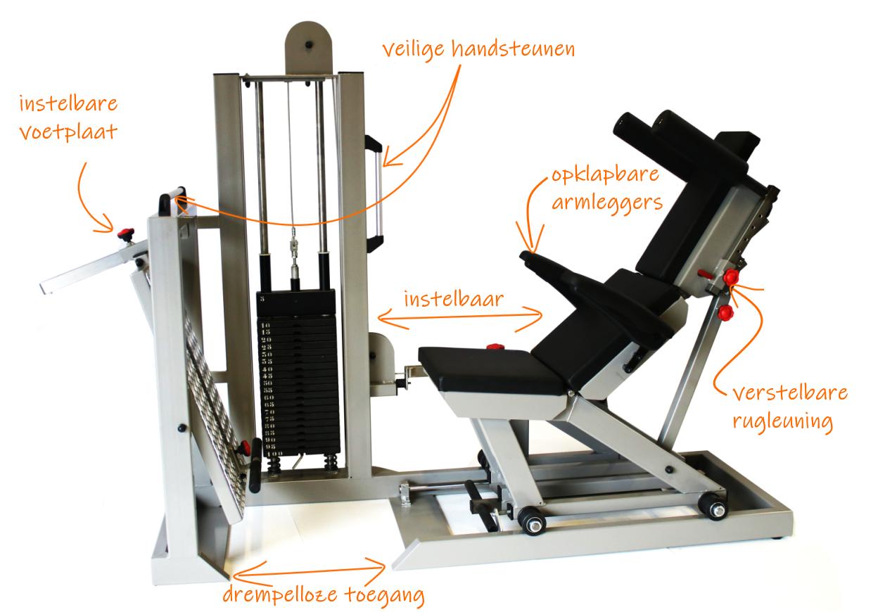 2-legpress-specificaties